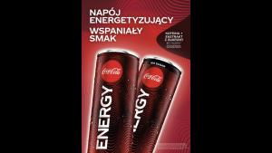 Coca-Cola rozszerza portfolio o nowy napój energetyzujący – Coca-Cola Energy