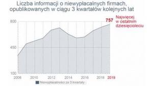 Rekordowa liczba niewypłacalności firm w Polsce w ciągu trzech kwartałów Biuro prasowe