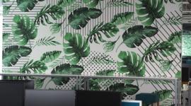 Ściany w biurze - inspiracje Muraspec