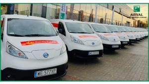 Poczta Polska stawia na elektromobilność.