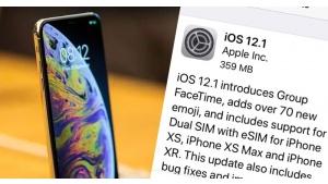 Chwilę po wydaniu iOS 12.1 wykryto lukę, z pomocą której można zyskać nieautoryz