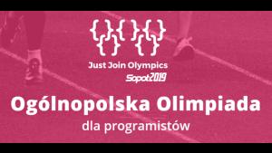 Olimpiada programistów, czyli sport jakiego jeszcze nie było