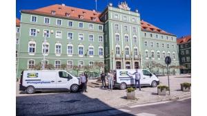 IKEA pomaga wyposażyć gminne centra kwarantanny w Szczecinie. #PomagamyRazem Biuro prasowe
