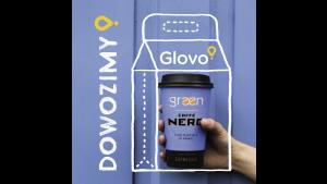 Green Caffè Nero w partnerstwie z Glovo rusza z dostawami Biuro prasowe