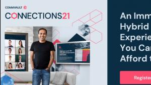 Zbliża się Commvault Connections21, wydarzenie roku sektora zarządzania danymi Biuro prasowe