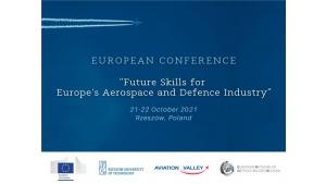 Konferencja Future Skills for Europe s Aerospace and Defence Industry Biuro prasowe