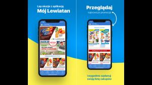 """Lewiatan startuje z aplikacją lojalnościową """"Mój Lewiatan"""" Biuro prasowe"""