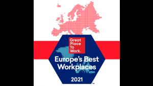 14 firm z Polski wśród Europe's Best Workplaces™ 2021