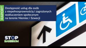 Życie osób z niepełnosprawnością w Niemczech i Szwecji Biuro prasowe