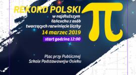 W Dzień Liczby Pi w Osieku będą bić matematyczny Rekord Polski