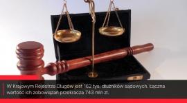 Sądy skazane na dłużników. Do odzyskania mają 743 mln zł
