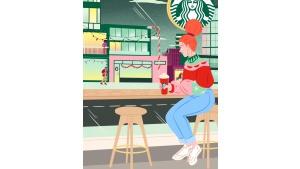 Świąteczne zestawy Starbucks dostępne w dostawie z Glovo