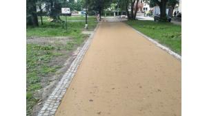 Lepiszcze syntetyczne Kromatis od Total Polska do Parku Solidarności w Rzeszowie Biuro prasowe