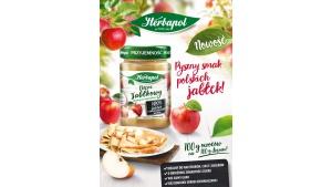 Dżem z jabłek z mazowieckich sadów - nowa, pyszna propozycja od marki Herbapol