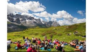 """Muzyka w rytmie natury – """"Sounds of the Dolomites"""" 2019 Biuro prasowe"""