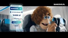 Reklamowa petarda od Bancovo