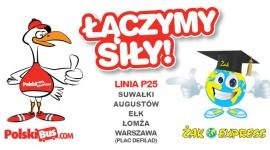 PolskiBus.com i Żak Express łączą siły na trasie P25!