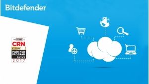 Bitdefender po raz kolejny w CRN Cloud Partner Program Guide 2017