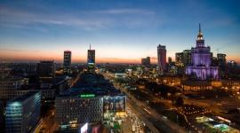 Ścisłe centrum Warszawy z wieżowcami i bez samochodów?