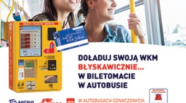 Kampania informacyjna – biletomaty bezgotówkowe w autobusach Biuro prasowe