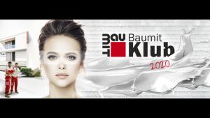 Baumit Klub 2020 – kupuj, zbieraj punkty i wymieniaj na nagrody!