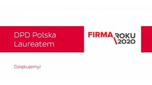 DPD Polska Firmą Roku 2020 Biuro prasowe