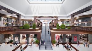 Rozpoczęła się przebudowa Plazy w Fashion Outlet Kraków
