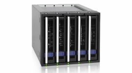 Icy Dock FatCage MB155SP-B - obudowa RAID na 5 dysków