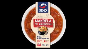 Jedyne takie na rynku - zapiekane makrele od SEKO