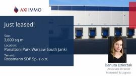 Rossmann otwiera regionalny hub dystrybucyjny w Panattoni Park Warsaw South Biuro prasowe