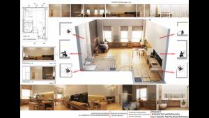 Studenci zaprojektowali jednostkę mieszkalną dla osoby niepełnosprawnej!