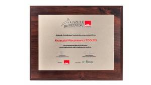 Białostocka firma Tooles odebrała tytuł Gazeli Biznesu 2018. Zajęła trzecie miej
