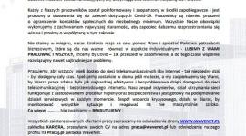 WaveNet - Informacja dla Klientów, Partnerów, Pracowników -BĄDŹ BEZPIECZNY