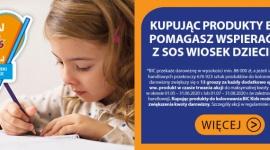 BIC wspiera finansowo SOS Wioski Dziecięce Biuro prasowe