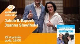 Jakub B. Bączek i Joanna Sławińska w Empik Silesia