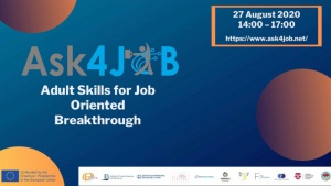 ASK4JOB - Konferencja online dot. bezpłatnej ścieżki edukacyjnej z zakresu umiej Biuro prasowe
