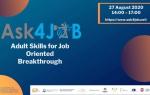ASK4JOB - Konferencja online dot. bezpłatnej ścieżki edukacyjnej z zakresu umiej