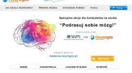 """Podrasuj sobie mózg"" z Neurogra.pl"