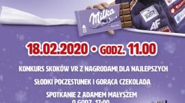"""Adam Małysz na wydarzeniu w Tesco w ramach kampanii """"Milka. Sercem z Naszymi !"""