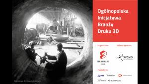 Ogólnopolska Inicjatywa Branży Druku 3D Biuro prasowe