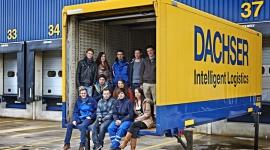 Nowi stażyści i studenci w Dachser w Niemczech