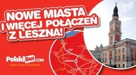 Nowe miasta i jeszcze więcej połączeń z Leszna! Biuro prasowe