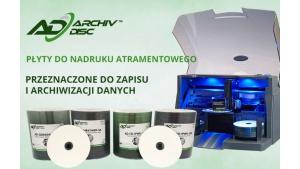Najtrwalsze nośniki danych CD/DVD ArchivDisc™ i ArchivDisc Pro™ Biuro prasowe