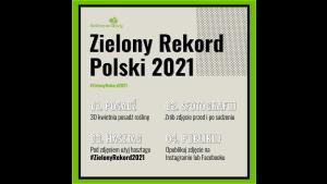 W najbliższy piątek pobijemy Zielony Rekord Polski Biuro prasowe