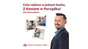 Bank Pocztowy wprowadza od 1 czerwca Konto w Porządku Biuro prasowe