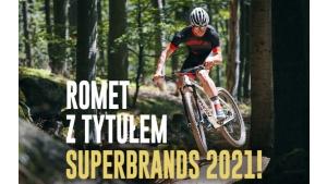 Superbrands 2021 – Romet marką najczęściej polecaną przez konsumentów