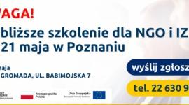 Bezpłatne szkolenie w Poznaniu dla NGO oraz Izb Gospodarczych!