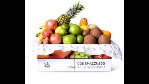 Owoce w pracy – pudełka z egzotycznymi owocami Biuro prasowe