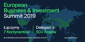 European Business & Investment Summit 2019 Warsaw